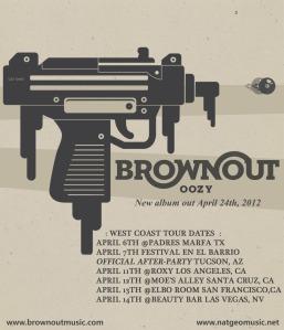 Brownout West Coast Tour